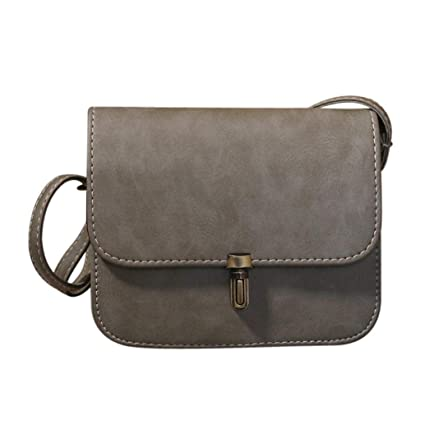 54becf7219c6 Amazon.com: Sameno Crossbody Bag,Women Lady Leather Bullet lock ...