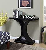 Cheap Convenience Concepts Newport Infinity Console Table, Black