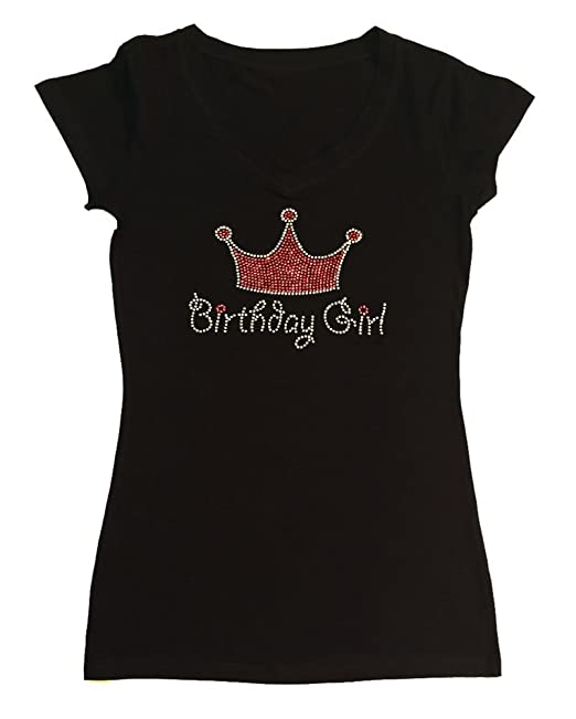Amazon.com: Womens Fashion playera con Cumpleaños Niña ...