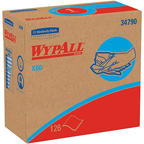 - Top Pack Supply Kimberly Clark WypALL X60 Industrial Wipers Dispenser Box, 9.1