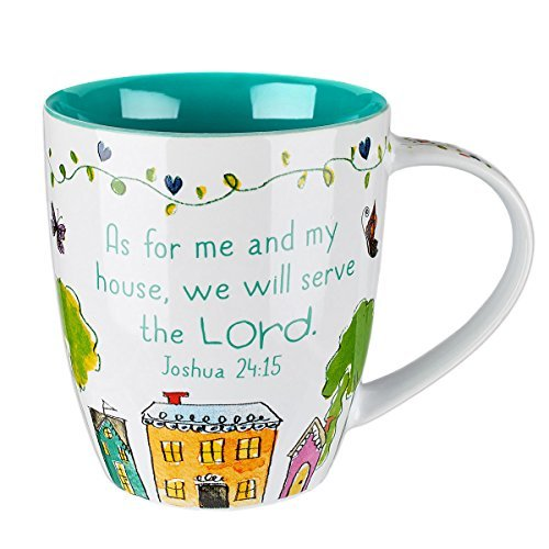 Everyday Blessings Bless Our Home Mug - Joshua 24:15 by Christian Art Gifts