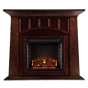Amazon.com: Southern Enterprises Lowery Electric Fireplace ...