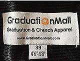 GraduationMall Unisex Matte Graduation Gown for