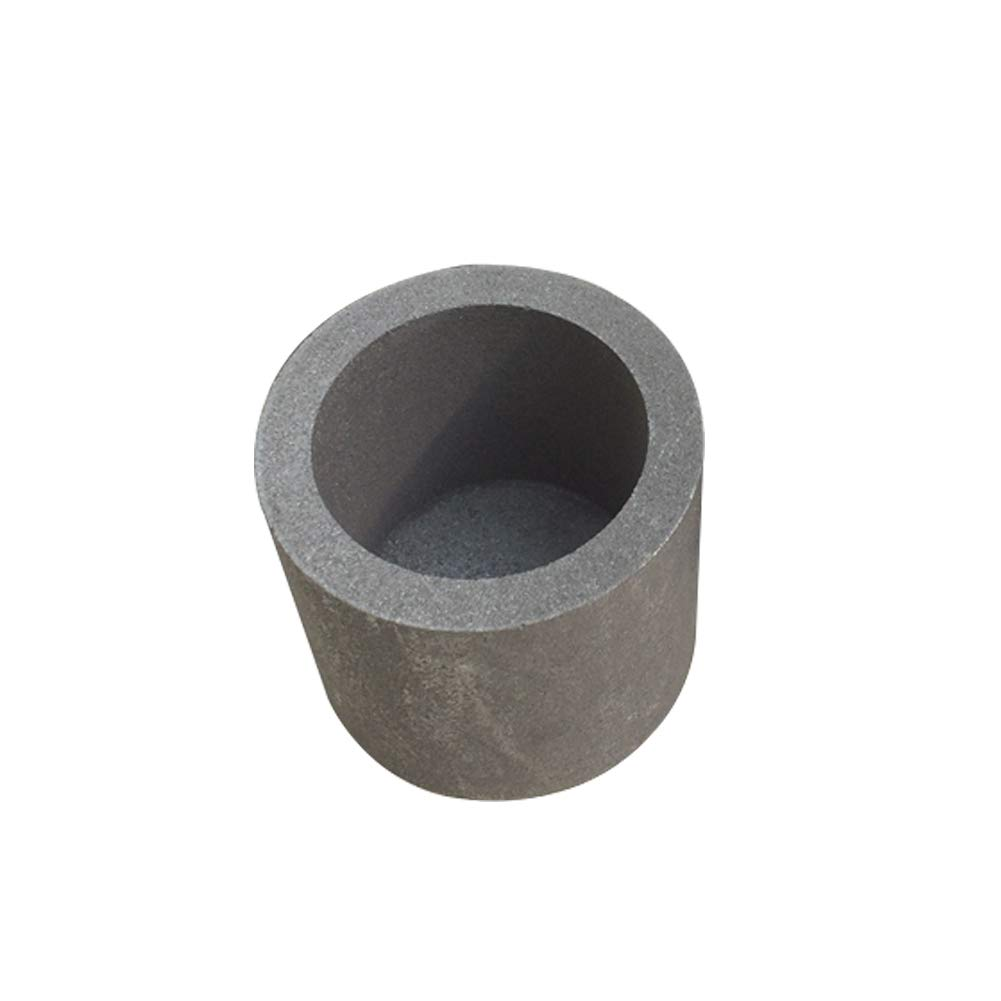40mm x 40mm Graphite Crucible Melt Gold Silver Platinum scrap metals