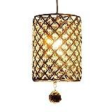 ANNT Modern Chandelier Lighting Crystal Ball Fixture Pendant Ceiling Lamp, H80 X W18 X Depth 18, 1 Light