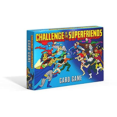 Challenge of The Superfriends Card Game: Toys & Games