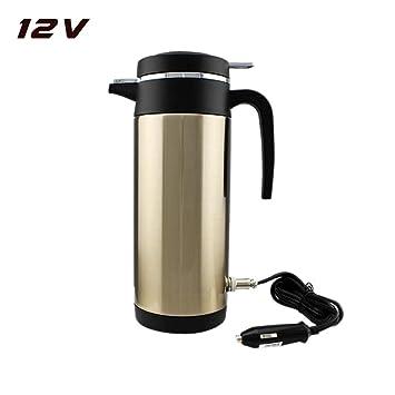Auto Elektrisch Wasserkocher 12V 24V 1000ml Wasser Cup Neu