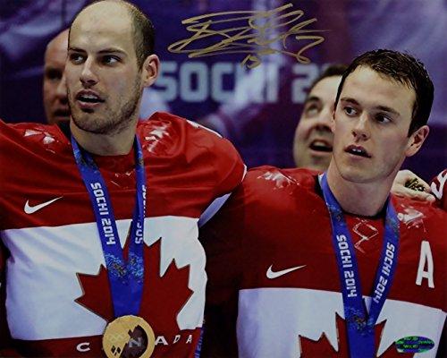 Ryan Getzlaf Signed Team Canada 8x10 Photo OC Dugout Hologram (OC1)