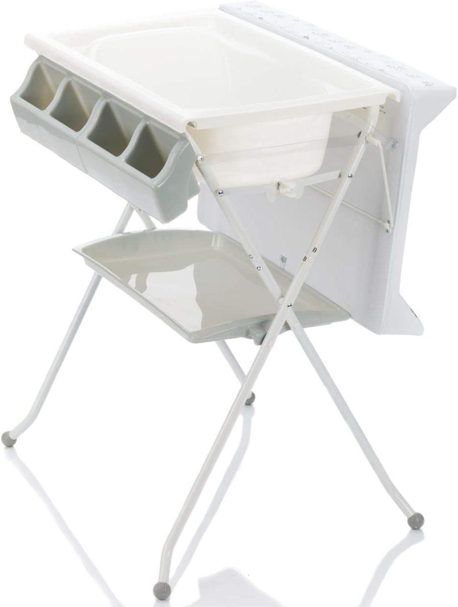 Table à langer 7 en 7 avec baignoire KOMBI (pliable)