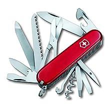 Couteau suisse de poche rouge RANGER 21 fonctions Victorinox 1.3763