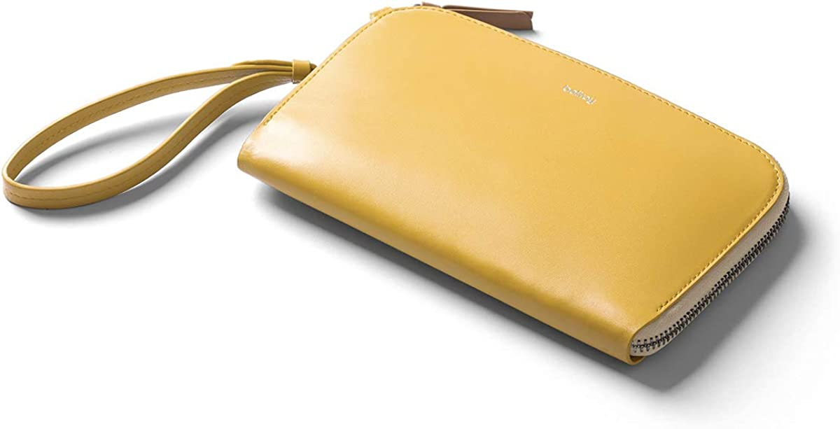 Small Leather Clutch Bag For Women, Holds 9 Cards, Magnetic Pocket For Coins, Zip Closure Bellroy Clutch