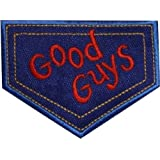 Good Guys Patch Child's Play Embroidered Iron / Sew on Badge Horror Movie Chucky Costume Souvenir Applique