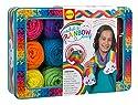 AlexおもちゃクラフトCrochet A Rainbow Scarf 85T