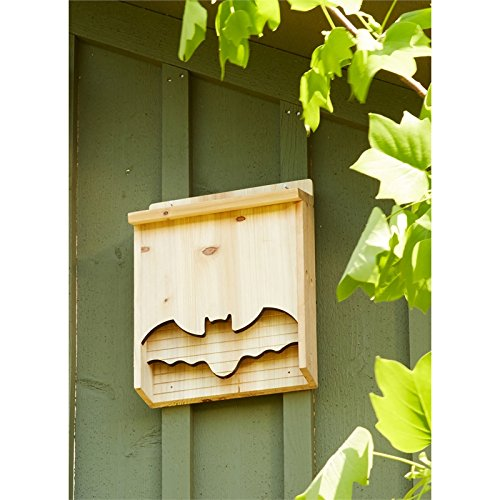 Evergreen Bat House Bat Shape, 18 inches