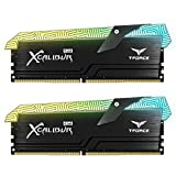 TEAMGROUP T-Force Xcalibur RGB DDR4 16GB (2x8GB) 4000MHz (PC4-32000) CL18 Desktop Memory Module ram TF6D416G4000HC18EDC01 - Special Edition