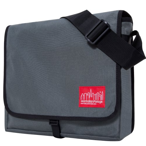 Soap Manhattan (Manhattan Portage Medium DJ Shoulder Bag (Grey))