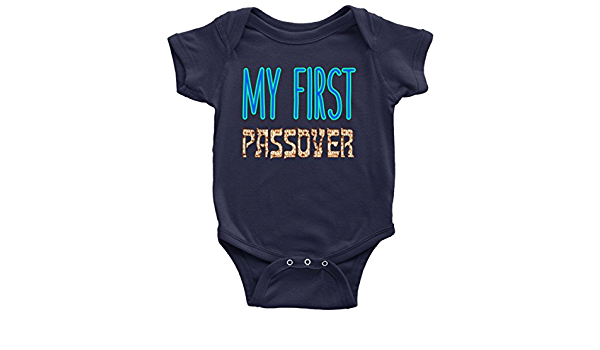Passover Infant Passover Bodysuit Hebrew matzah I Love Matzoh Baby/'s First Pesach First Passover Onesie Bespoke Passover