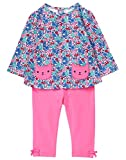 Gymboree Baby Girls Long Sleeve Set, Kitten Floral, 3-6 Mo