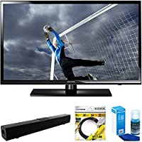 Samsung 40 Full 1080p HD 60Hz LED TV (UN40H5003) with Solo X3 Bluetooth Home Theater Sound Bar, 6ft High Speed HDMI Cable Black & Universal Screen Cleaner for LED TVs Large Bottle