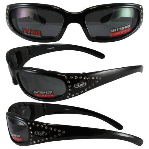 Global Vision Eyewear Marilyn 3 Sunglasses with EVA Foam, Smoke Tint - Sunglasses Marilyn