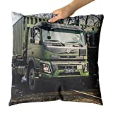 yankee garbage can - Westlake Art Motor Vehicle - Decorative Throw Pillow Cushion - Picture Photography Artwork Home Decor Living Room - 18x18 Inch (1B23-E4A0E)