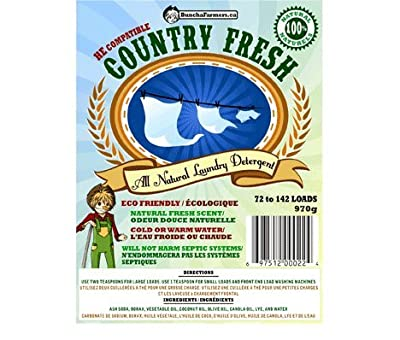 "BunchaFarmers ""Country Fresh"" Laundry Detergent, 100 loads (600g)"