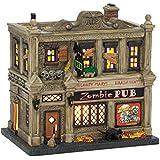Department 56 Snow Village Halloween The Zombie Pub Lit House, 6.9 inch