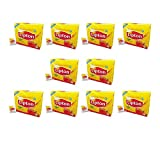 Lipton Regular Tea Bags, 100ct (Case of 10)