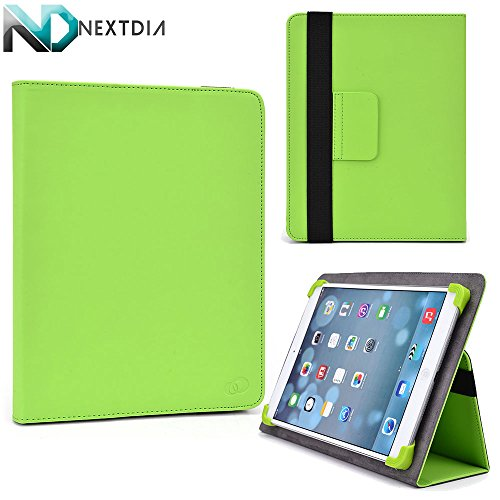 """Amazon Kindle DX Folio Case Cover Stand with Soft Grip Clips - Universal Style fits Most 8"""" Devices 