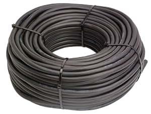 as - Schwabe 10032 - Cable eléctrico de neopreno, negro, para construccion