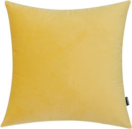 IKEA SANELA DARK BROWN VELVET ZIPPERED OBLONG PILLOW COVER 16 X 24 1