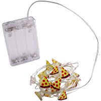OSALADI 20 Leds Mini Forma de Pizza Luces