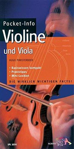 Pocket-Info, Violine und Viola