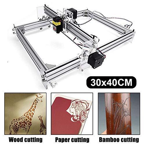 500mw Laser Engraving Machine, 30x40cm CNC Router Machine 12V USB Laser Engraver Desktop CNC DIY Picture Making Printer (500mw/30x40cm)