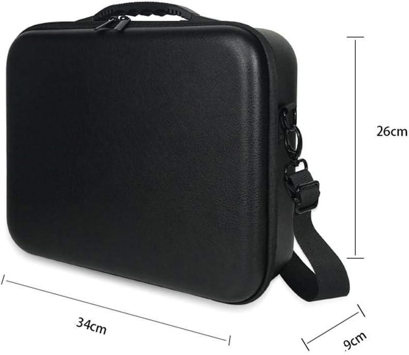 hemistin Handheld Gimbal Stabilizer Storage Bag for Zhiyun Weebill S Travel Hard Case Shoulder Handbag Black