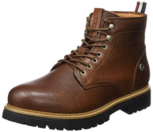 Tommy Jeans Herren L2385ouis 1a Chukka Boots Braun (Coffee Bean)