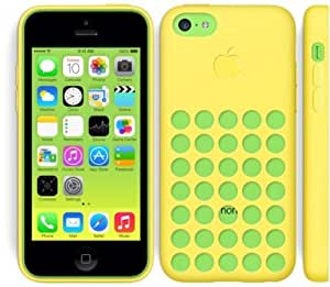 iPhone 5C CASE - YELLOW - SILICONE - not original