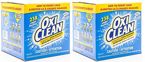 OxiClean ISuQBt Versatile Stain Remover, 236 Loads (Pack of 2) by OxiClean