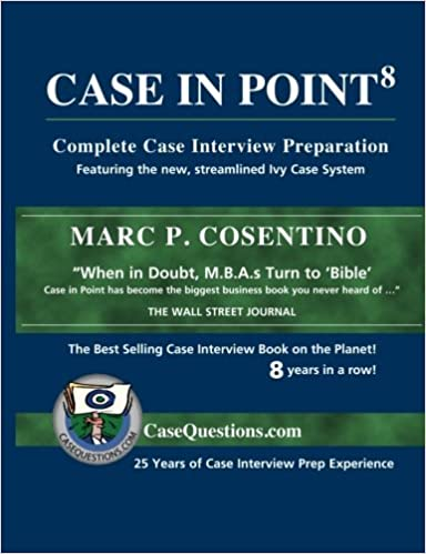Case in point complete case interview preparation livros na case in point complete case interview preparation livros na amazon brasil 9780971015883 fandeluxe Images