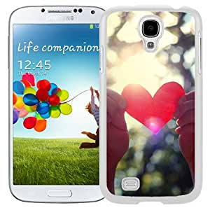 New Beautiful Custom Designed Cover Case For Samsung Galaxy S4 I9500 i337 M919 i545 r970 l720 With Love Light Shining (2) Phone Case
