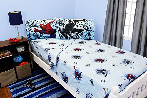 - Spiderman 3 Double Trouble Full Size Bedding Sheet Set