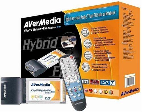 AVerMedia AverHybrid+FM Cardbus (PCMCIA DVBT/analog TV Karte)