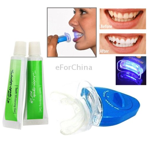 White Light Teeth Whitening Kit For Personal Dental Care Amazon In