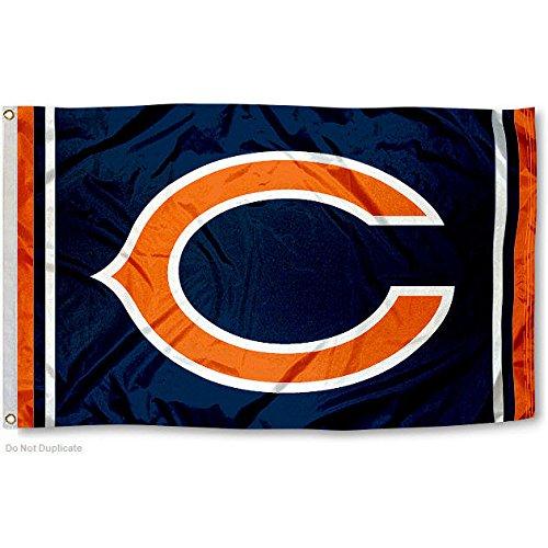 Chicago Bears Large NFL 3x5 Flag