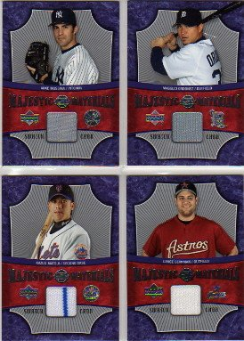 2005 Sweet Spot Majestic Materials #MMLB Lance Berkman Jersey Game-Used Memorabilia Card