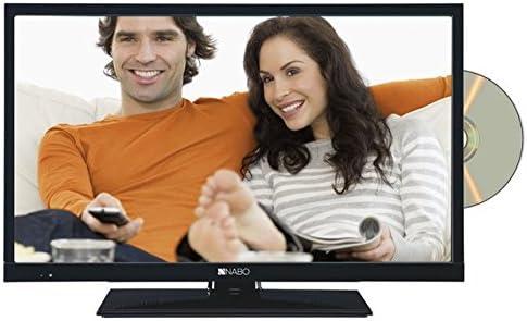 Nabo 22 lv2500 22 Pulgadas Pantalla Plana para televisor LED TV con Reproductor de DVD USB: Amazon.es: Electrónica