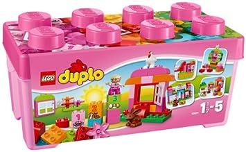 LEGO Duplo - Caja Rosa de diversión Todo en Uno - 10571: Amazon.es: Juguetes y juegos