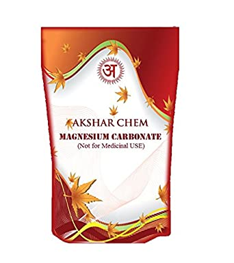 Akshar Chem carbonato de magnesio 1 kg: Amazon.es: Industria, empresas y ciencia