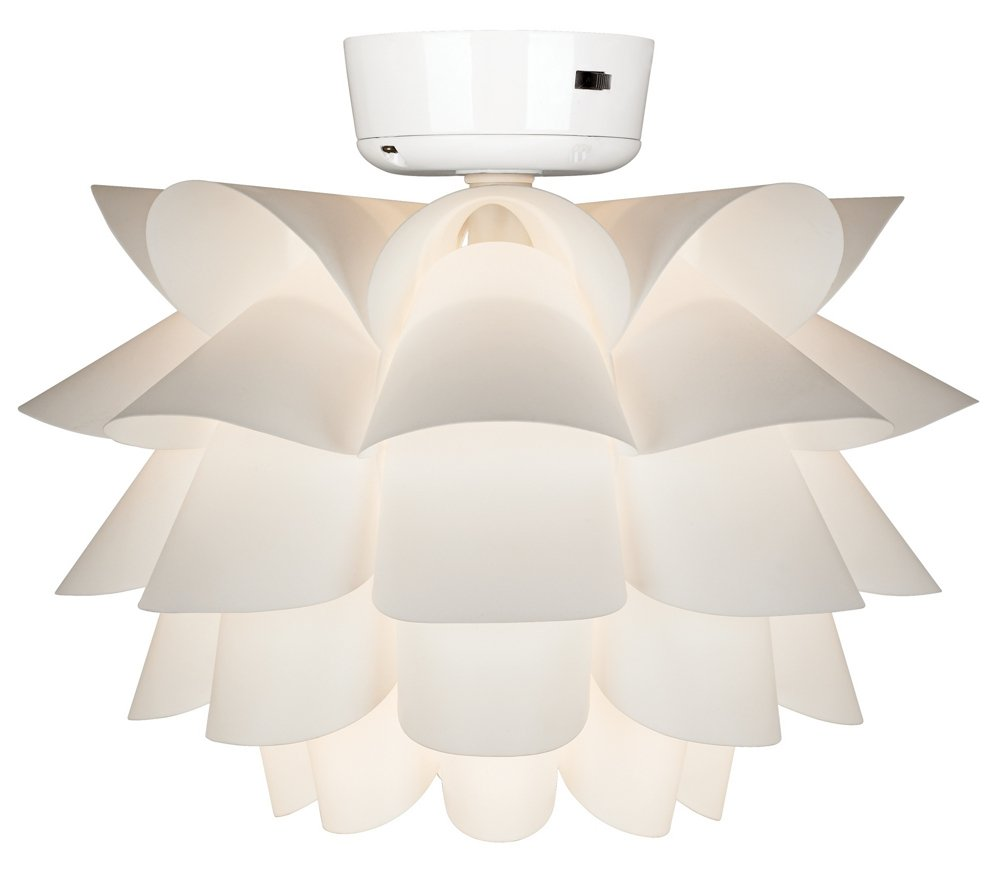 hunter white led kit light fans ceiling ceilings lights fresh p with fan indoor in donegan
