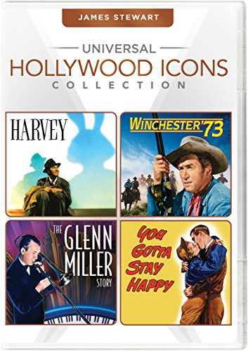 Universal Hollywood Icons Collection: James Stewart (Harvey / Winchester '73 / The Glenn Miller Story / You Gotta Stay Happy) ()